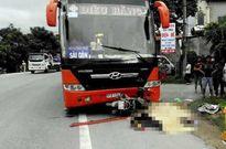 Xe khách đâm xe máy, 2 phụ nữ tử vong tại chỗ