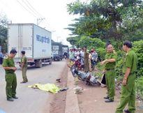 Bị thương nặng, con gái kịp nhớ BKS xe tải cán chết mẹ mình