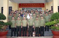 Bộ trưởng Trần Đại Quang kiểm tra công tác tại Cục An ninh Tây Nguyên