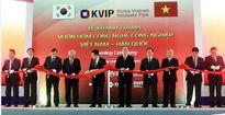 Chủ tịch UBTƯ MTTQ VN Nguyễn Thiện Nhân dự Lễ khánh thành Vườn ươm công nghệ công nghiệp Việt Nam – Hàn Quốc