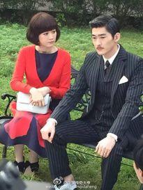 Trương Hàn già nua trên phim trường
