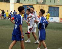 Kết quả, hình ảnh thi đấu ngày 15-11 giải bóng đá học sinh THPT Hà Nội 2015