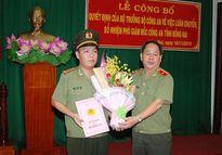 Bổ nhiệm trung tá Lê Hoàng Ngân làm phó giám đốc Công an tỉnh Đồng Nai