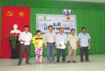 LĐLĐ huyện Cù Lao Dung (Sóc Trăng): Thành lập nghiệp đoàn, kết nạp 29 ngư dân vào tổ chức công đoàn