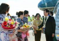 Chủ tịch nước Trương Tấn Sang thăm Philippines, tham dự Hội nghị Cấp cao APEC 23: Thúc đẩy các mối quan hệ đối tác hiệu quả