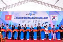 Nhà máy sản xuất linh kiện điện tử 25 triệu USD của Hàn Quốc đi vào hoạt động