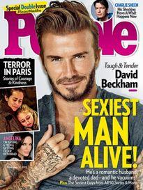 David Beckham là người đàn ông hấp dẫn nhất hành tinh năm 2015