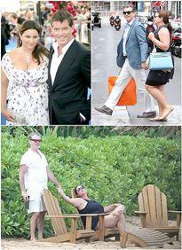 Chuyện tình Pierce Brosnan với vợ 'ngoại cỡ'