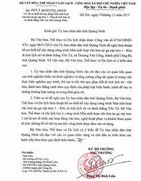 Cty Tùng Lâm được phê duyệt xây dựng tại khu di tích Yên Tử