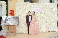 Phong cách ngày cưới lộng lẫy của hot girl Hà Mjn