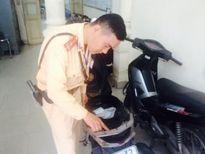 Từ đăng ký xe bất thường, CSGT truy ra xe trộm cắp