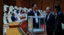 Chủ tịch Nguyễn Sinh Hùng hứa trước Quốc hội