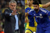 """Jose Mourinho và Diego Costa đã """"hét vào mặt nhau"""" trong giờ nghỉ?"""