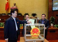 Quốc hội phê chuẩn danh sách các Phó Chủ tịch và Ủy viên Hội đồng bầu cử quốc gia