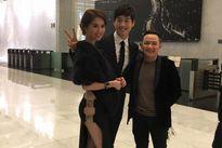 Ngọc Trinh diện váy sexy khiến mỹ nam Hàn khó rời mắt