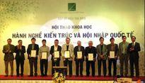 Kiến trúc sư Việt Nam được cấp chứng chỉ hành nghề kiến trúc ASEAN
