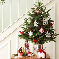 Những ý tưởng trang trí Noel độc đáo cho căn hộ của bạn