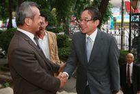Chủ tịch Tổng LĐLĐ VN Đặng Ngọc Tùng Tiếp Đoàn Đại biểu Liên hiệp Toàn quốc các CĐ Nhật Bản