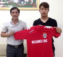 Bình Dương ký hợp đồng với cầu thủ Hàn Quốc cao 1m90
