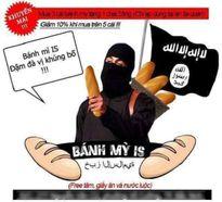 """Phản cảm quảng cáo bánh mỳ IS """"đậm đà hương vị khủng bố"""" ở Bắc Ninh"""