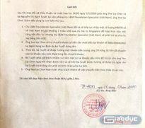 Viện trưởng Viện KSND TP.Hồ Chí Minh báo cáo chưa đúng sự thật lên Trung ương
