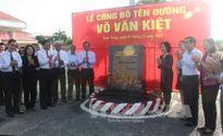 Đồng Tháp đặt tên đường Võ Văn Kiệt