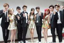 EXO, SNSD, Super Junior so kè nhau tại Golden Disk Award