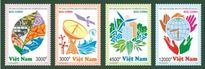 Bộ tem bưu chính VN kêu gọi ứng phó với biến đổi khí hậu