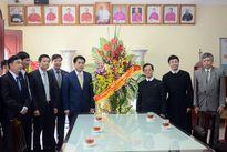 Chủ tịch UBND TP Hà Nội chúc mừng Lễ Thiên Chúa Giáng sinh giáo xứ Thái Hà