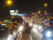 Xây cầu vượt để giảm kẹt xe khu vực sân bay Tân Sơn Nhất