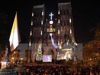 Người dân thủ đô Hà Nội nô nức chào đón Giáng sinh 2015