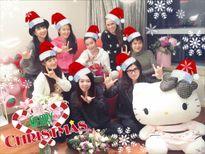 Sao Hoa ngữ tưng bừng đón Giáng sinh bên gia đình