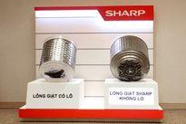 Sharp giới thiệu lồng giặt không lỗ độc đáo
