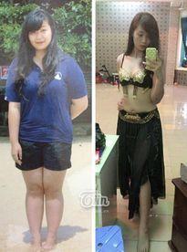 Hình ảnh không thể tin nổi sau khi giảm 31kg trong 6 tháng của 9x Vĩnh Phúc