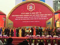 May 10 đón nhận Huân chương Độc lập Hạng nhất lần thứ 2