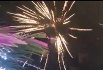 Bắn pháo hoa tại đám cưới xa hoa nhất Cà Mau là sự thật