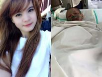 Cô gái bị bạn trai tưới xăng thiêu sống qua đời
