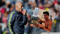 Zidane bắt học trò 'bóp mồm bóp miệng'