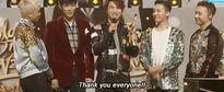 Big Bang 'xưng vương' với 3 giải thưởng tại 'Grammy Hàn Quốc'