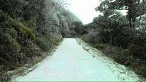 Hình ảnh tuyết rơi tại Cao Bằng