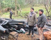 Thanh Hóa: Nhà cháy rụi vì đốt lửa sưởi ấm cho lợn