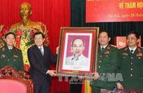 Chủ tịch nước Trương Tấn Sang thăm Học viện Hậu cần
