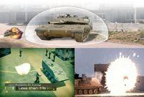 Xe thiết giáp Israel được trang bị 'khiên vô hình'