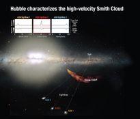 Mây khí vũ trụ khổng lồ mạnh bằng 2 triệu ngôi sao đang tiến về Trái đất