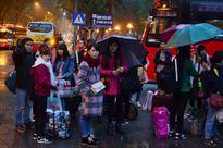 32 chuyến xe miễn phí đưa 1.500 sinh viên về quê ăn Tết