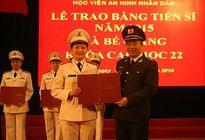 Học viện ANND trao bằng Tiến sỹ và bế giảng Khóa Cao học 22