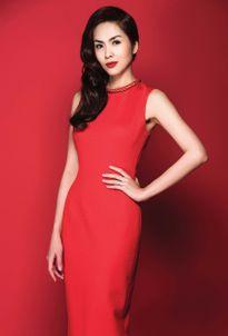 Hà Tăng yểu điệu với 7 set trang phục sắc đỏ đón Tết