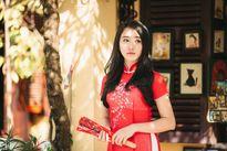 'Bạn gái Sơn Tùng M-TP' xinh như nàng thơ dạo phố cổ Hội An