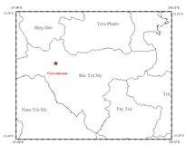 Động đất liên tiếp ở Quảng Nam