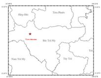 Bắc Trà My liên tiếp xảy ra động đất kèm tiếng nổ lớn
